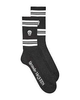 Alexander McQUEEN - Skull Print Sport Socks