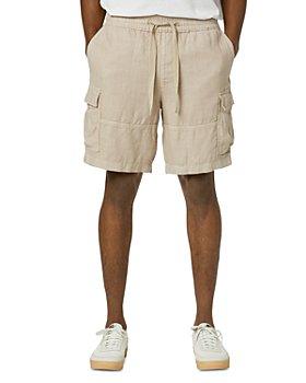 Joe's Jeans - Linen Drawstring Cargo Shorts