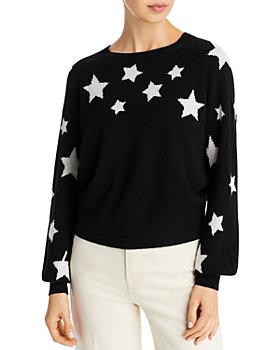 AQUA - Mommy & Me Cashmere Star Sweaters - 100% Exclusive