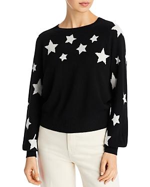 Aqua Cashmere Star Print Sweater - 100% Exclusive
