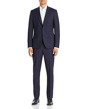 Paul Smith - Extra Slim Fit Navy Check Suit