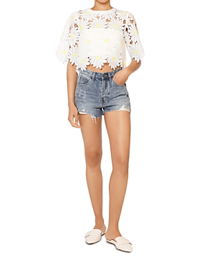 Distressed Denim Shorts (36% off) Comparable value $55