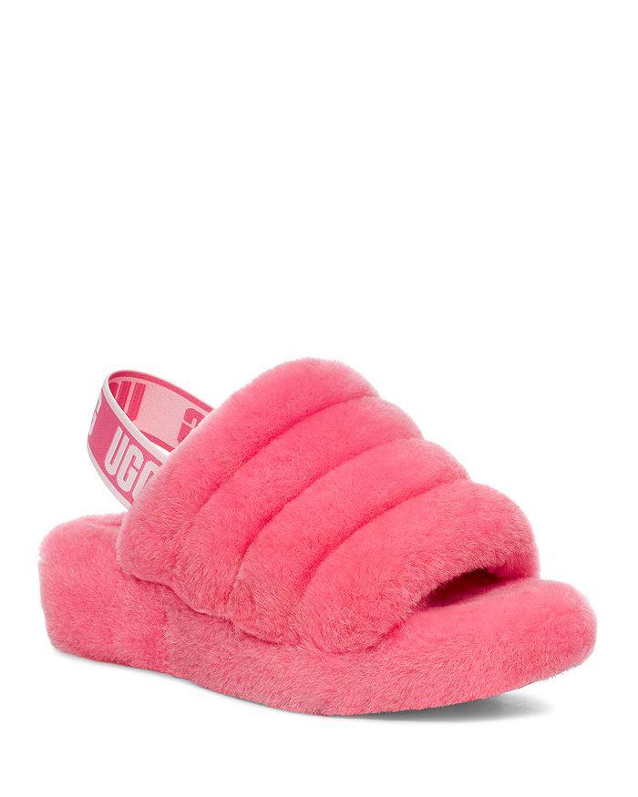 UGG® - Women's Fluff Yeah Shearling Slingback Slippers