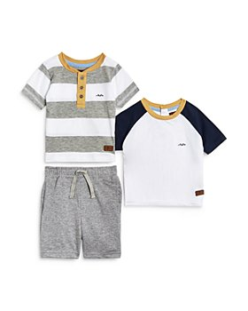 7 For All Mankind - 3-Piece Shorts & Tee Set - Baby