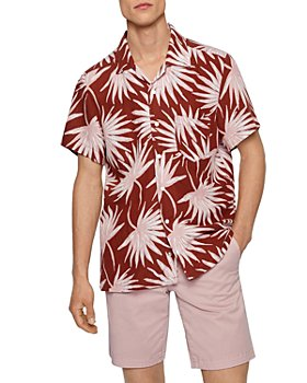 BOSS - Rhythm Dandelion Print Regular Fit Shirt