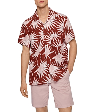 Boss Rhythm Dandelion Print Regular Fit Shirt