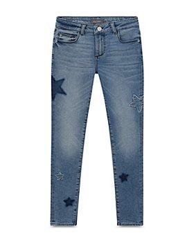 DL1961 - Girls' Chloe Star Patch Skinny Jeans - Little Kid