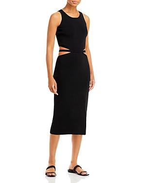 Cutout Midi Knit Dress