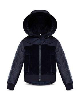 Moncler - Unisex Asu Mixed Media Puffer Jacket - Big Kid