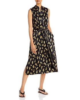 Vince - Dandelion Printed Dress