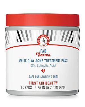 Fab Pharma White Clay Acne Treatment Pads