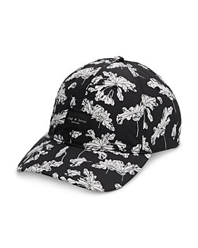 rag & bone - Addison Floral Print Baseball Cap