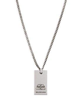 Balenciaga - BB Pendant Necklace