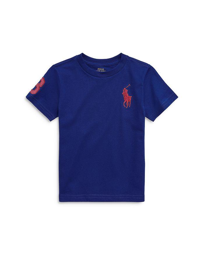 Ralph Lauren - Boys' Embroidered Big Polo Tee - Little Kid, Big Kid