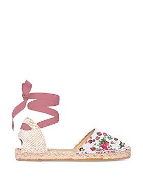 Manebí - LoveShackFancy x Manebi Women's Flat Valenciana Espadrille Sandals