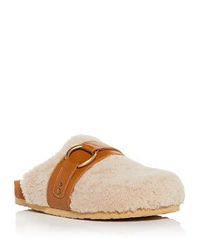 See by Chloé - Women's Gema Shearling Mules