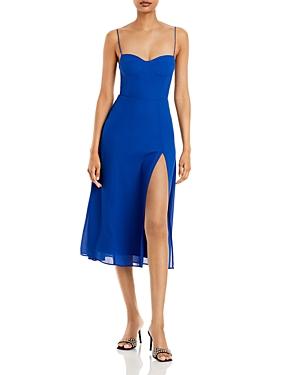 Aqua Corset Midi Dress - 100% Exclusive