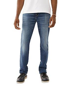True Religion - Rocco No Flap Slim Fit Jeans in Blurred Haze
