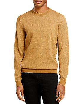 BOSS - Cotton & Linen Sweater