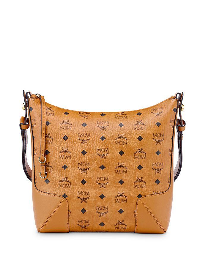 MCM - Klara Visetos Medium Hobo Bag