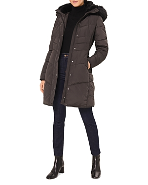 Lettie Faux Fur Trimmed Puffer Jacket
