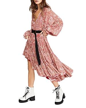 Feeling Groovy Floral Maxi Dress