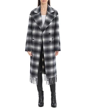 Fringed Hem Walker Coat
