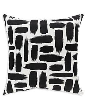 "Surya - Stroke Outdoor Pillow, 16"" x 16"""