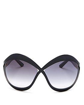Tom Ford - Women's Oversized Butterfly Sunglasses, 71mm