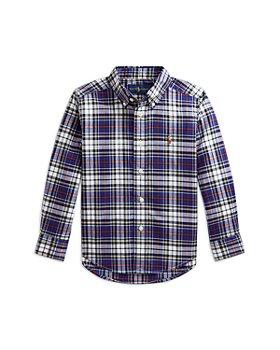 Ralph Lauren - Boys' Cotton Poplin Button Down Shirt - Little Kid