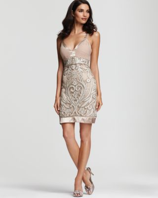 Sue Wong Embroidered Dress