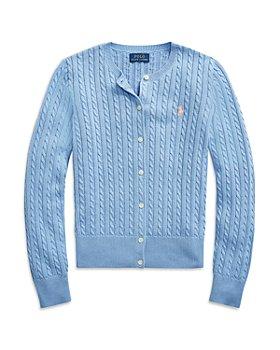 Ralph Lauren - Girls' Mini Cable Cardigan Sweater - Little Kid, Big Kid