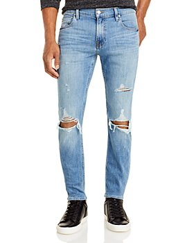 7 For All Mankind - The Stacked Skinny Jeans in Valhalla Destroy