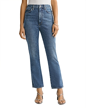 Agolde Pinch Waist Ankle Flare Jeans in Placebo