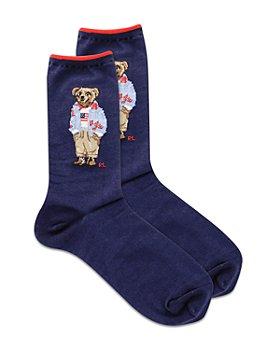 Ralph Lauren - Americana Polo Bear Crew Socks