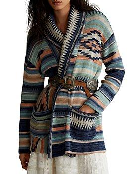 Ralph Lauren - Striped Wrap Cardigan