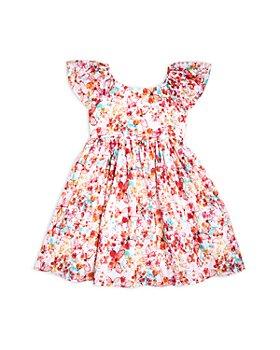 Pippa & Julie - Girls' Butterfly Print Dress - Little Kid