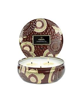 Voluspa - Forbidden Fig 3 Wick Tin Candle 12 oz.