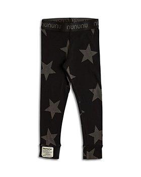 NUNUNU - Unisex Star Print Cotton Leggings - Baby