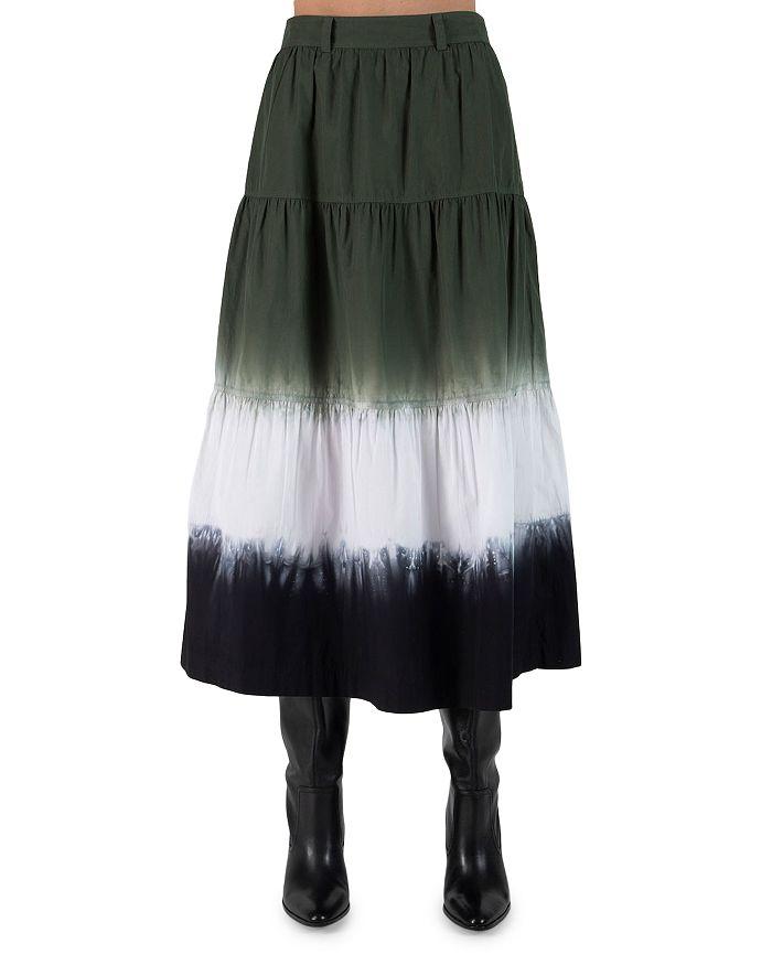 Derek Lam 10 Crosby - Lynne Tie Dyed Tiered Skirt