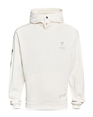 Sleeve Graphic Hooded Sweatshirt