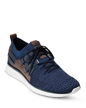 Men's GrandMtion Woven Stitchlite Lace Up Sneakers