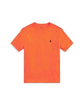 Ralph Lauren - Boys' Cotton Logo Tee - Little Kid, Big Kid