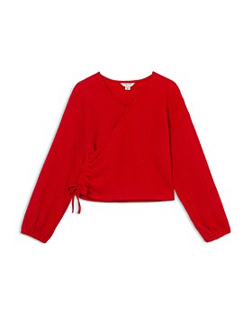 Habitual Kids - Girls' Wrap Knit Top - Big Kid