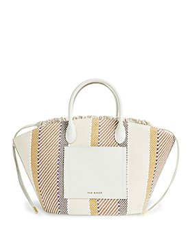 Ted Baker - Striped Bucket Tote