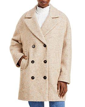 VANESSA BRUNO - Sabir Double Breasted Coat