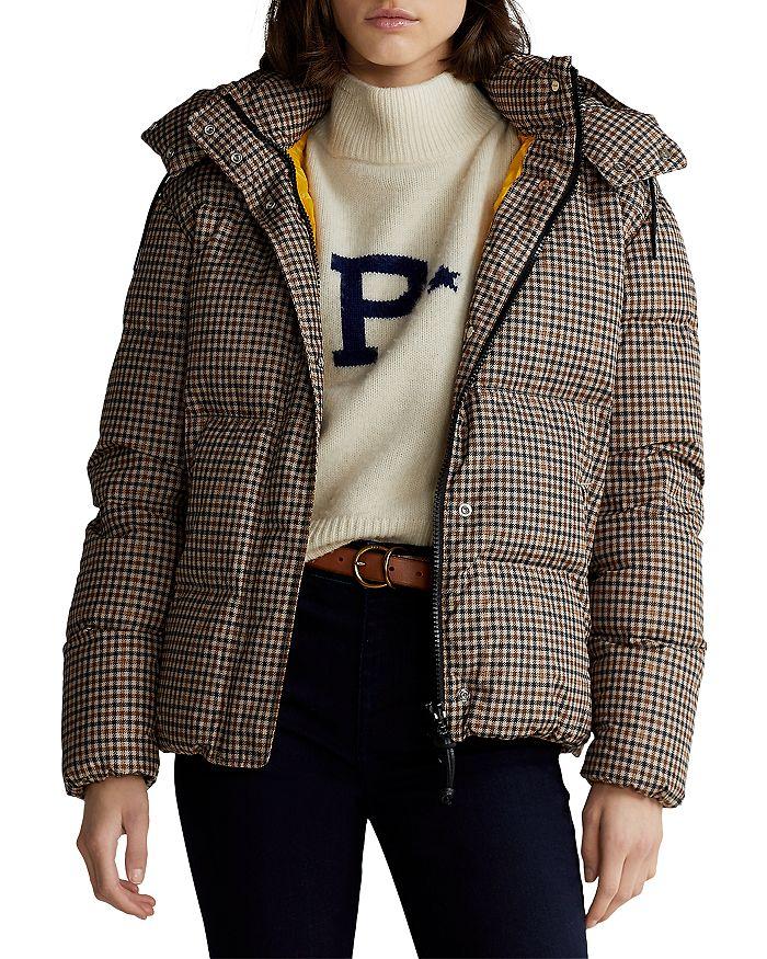 Ralph Lauren - Plaid Puffer Down Jacket