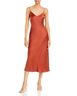 Dolly Satin Midi Dress