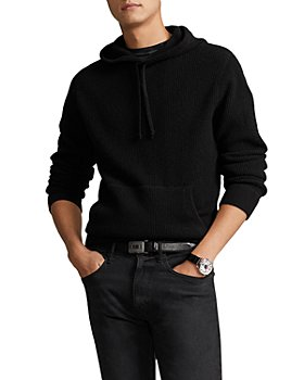 Polo Ralph Lauren - Washable Cashmere Waffle Knit Regular Fit Hooded Sweater