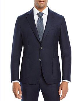 BOSS Hugo Boss - Hanry Slim Fit Navy Flannel Jacket